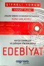 �ifreli Yorum Kanat Y�ld�z Edebiyat Konu Anlat�ml�