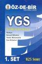 YGS 5li Deneme Sınavı 1. Set Din Kültürü Dahil Özdebir Yayınları