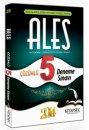2014 ALES ��z�ml� 5 Deneme S�nav� Kitapse� Yay�nlar�