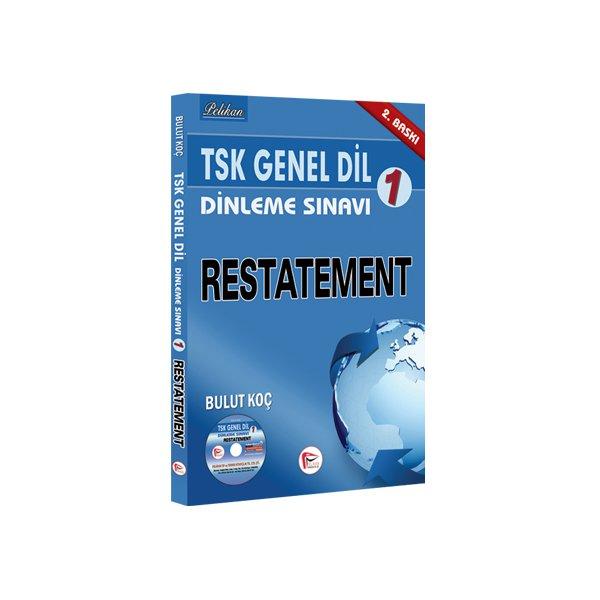 TSK Genel Dil Dinleme Sınavı 1 Restatement Pelikan Yayınları