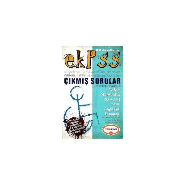 2014 EKPSS Çıkmış Sınav Soruları ve Çözümleri Yediiklim Yayınları