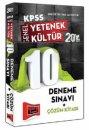 2014 KPSS Genel K�lt�r Genel Yetenek 10 ��z�ml� Deneme S�nav� Yarg� Yay�nlar�