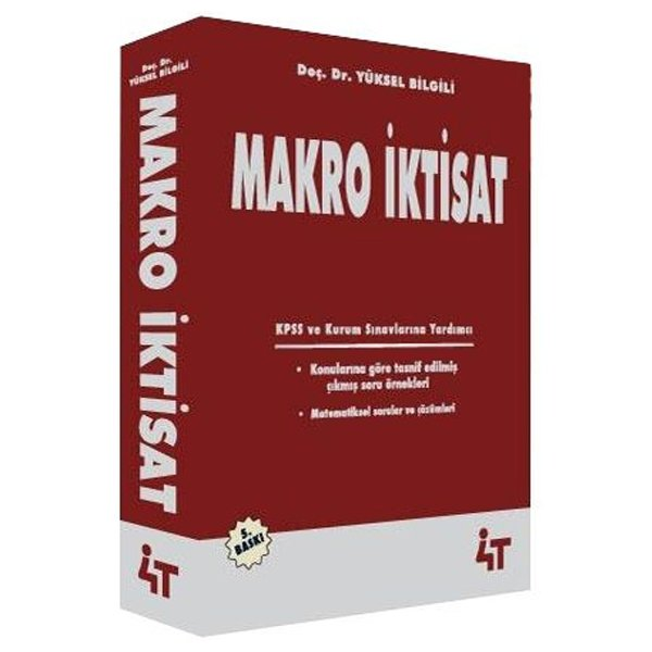 Makro Iktisat Yüksel Bilgili 5baskı 4t Yayınları