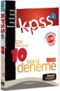 KPSS A Grubu Hukuk İktisat Maliye Muhasebe İşletme 10 Fasikül Deneme Beyaz Kalem Yayınları