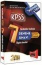 2014 KPSS Genel Yetenek Genel K�lt�r Kozmik Oda 7 ��z�ml� Deneme S�nav� Yarg� Yay�nlar�