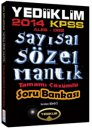 2014 KPSS ALES DGS Say�sal S�zel Mant�k Tamam� ��z�ml� Soru Bankas� Yediiklim Yay�nlar�