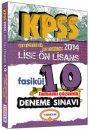 2014 KPSS Lise ve Önlisans Tamamı Çözümlü 10 Deneme Sınavı Yediiklim Yayınları