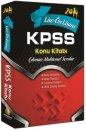 2014 KPSS Lise �nlisans Konu Anlat�ml� Tek Kitap Kapadokya Yay�nlar�