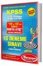 2014 KPSS Genel Yetenek Genel K�lt�r 10 Deneme S�nav� Karacan Yay�nlar�