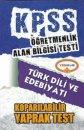 ÖABT Türk Dili ve Edebiyatı Koparılabilir Yaprak Test Yediiklim Yayınları