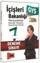 İçişleri Bakanlığı GYS 7 Fasikül Deneme Yargı Yayınları