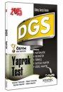 2015 DGS Yaprak Test Sayısal ve Sözel Yetenek Kitapseç Yayınları