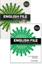 Oxford 3th Edition English File Intermediate Students Book And Work Book With CD-ROM