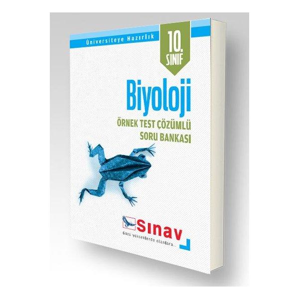 Sınav Yayınları 10 Sınıf Biyoloji örnek Test çözümlü Soru Bankası