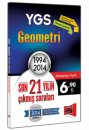 YGS Geometri Son 21 Yılın Çıkmış Soruları 1994 - 2014 Yargı Yayınları