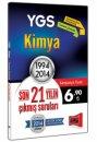 YGS Kimya Son 21 Y�l�n ��km�� Sorular� 1994 - 2014 Yarg� Yay�nlar�