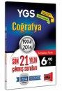YGS Co�rafya Son 21 Y�l�n ��km�� Sorular� 1994 - 2014 Yarg� Yay�nlar�