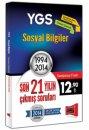 YGS Sosyal Bilimler Son 21 Y�l�n ��km�� Sorular� 1994 - 2014 Yarg� Yay�nlar�