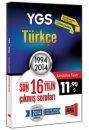 YGS Türkçe Son 16 Yılın Çıkmış Soruları 1994 - 2014 Yargı Yayınları