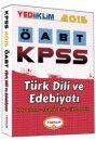 2015 ÖABT Türk Dili ve Edebiyatı Konu Anlatımlı Yediiklim Yayınları