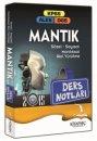 2015 KPSS ALES DGS Mant�k Ders Notlar� Kitapse� Yay�nc�l�k