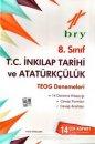 8. S�n�f T.C. �nkilap Tarihi ve Atat�rk��l�k TEOG Denemeleri 14 Deneme Birey Yay�nlar�