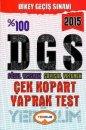 Yediiklim Yayınları 2015 DGS Sözel Yetenek Sayısal Yetenek Yaprak Test
