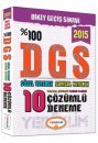 2015 DGS Tamam� ��z�ml� 10 Fasik�l Deneme Yediiklim Yay�nlar�