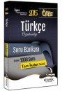 2015 ÖABT Türkçe Öğretmenliği Çözümlü Soru Bankası Kitapseç Yayıncılık