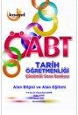 2015 ÖABT Tarih Öğretmenliği Çözümlü Soru Bankası Kısayol Yayıncılık