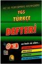 YGS Türkçe Defteri Kapadokya Yayınları