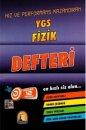 YGS Fizik Defteri Kapadokya Yayınları