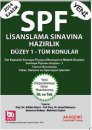 SPF Lisanslama S�nav�na Haz�rl�k D�zey 1 T�m Konular Akademi E�itim Yay�nlar�