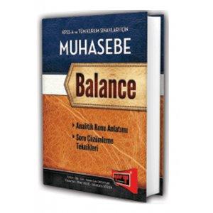 2015 KPSS A ve Tüm Kurum Sınavları İçin Muhasebe Konu Anlatımlı Balance Yargı Yayınları
