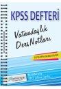 2016 KPSS Genel K�lt�r Vatanda�l�k Ders Notlar� X Yay�nlar�