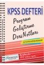 2016 KPSS E�itim Bilimleri Program Geli�tirme Ders Notlar� X Yay�nlar�