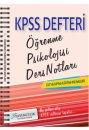2016 KPSS E�itim Bilimleri ��renme Psikolojisi Ders Notlar� X Yay�nlar�