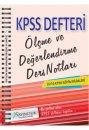 2016 KPSS E�itim Bilimleri �l�me ve De�erlendirme Ders Notlar� X Yay�nlar�