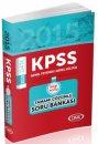 2015 KPSS Genel Yetenek Genel K�lt�r Bilgi Notlu Tamam� ��z�ml� Soru Bankas� Data Yay�nlar�