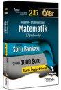 2015 ÖABT İlköğretim Ortaöğretim Matematik Öğretmenliği Çözümlü Soru Bankası Kitapseç Yayınları