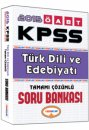 2015 �ABT T�rk Dili ve Edebiyat� ��retmenli�i Tamam� ��z�ml� Soru Bankas� Yediiklim Yay�nlar�