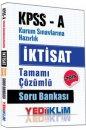 Yediiklim Yayınları KPSS A İktisat Tamamı Çözümlü Soru Bankası