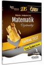 2015 ÖABT İlköğretim Ortaöğretim Matematik Öğretmenliği Yaprak Test Kitapseç Yayınları