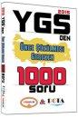 YGS den Önce Çözülmesi Gereken 1000 Soru Yediiklim Yayınları