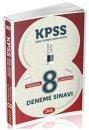 2015 KPSS Genel Yetenek Genel K�lt�r Tamam� ��z�ml� 8 Deneme Data Yay�nlar�