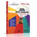 KPSS Hukuk Soru Bankası Kamu Hukuku Keskinsoy - Yıldırım Savaş Yayınları