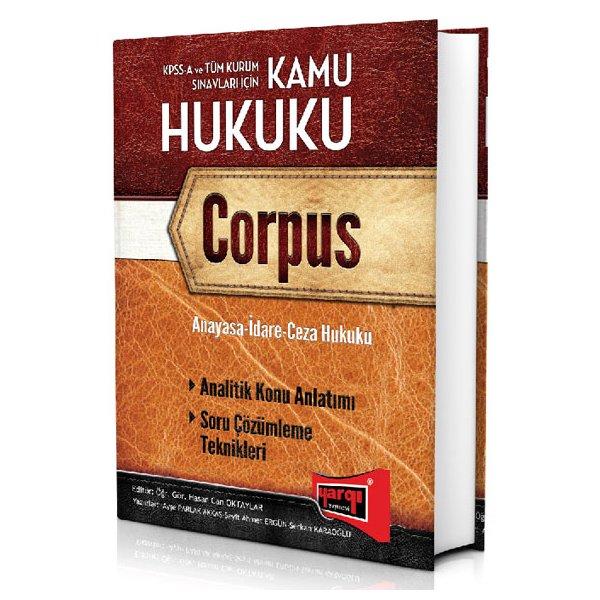 2015 KPSS A Kamu Hukuku Corpus Konu Anlatımlı Yargı Yayınları