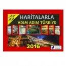 2016 Haritalarla Adım Adım Türkiye Dinamik Akademi Yayınları