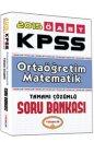2015 ÖABT Ortaöğretim Matematik Öğretmenliği Tamamı Çözümlü Soru Bankası Yediiklim Yayınları