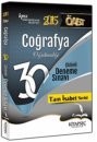 2015 �ABT Co�rafya ��z�ml� 30 Deneme Kitapse� Yay�nlar�